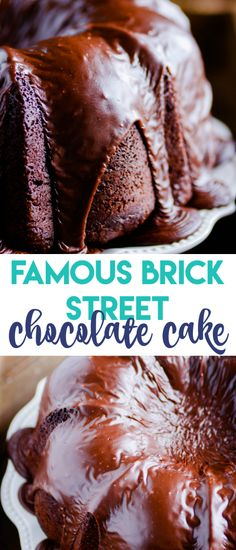 Famous Brick Street Chocolate Cake (Almost) https://www.somethingswanky.com/famous-brick-street-chocolate-cake-almost/?utm_campaign=coschedule&utm_source=pinterest&utm_medium=Something%20Swanky&utm_content=Famous%20Brick%20Street%20Chocolate%20Cake%20%28Almost%29