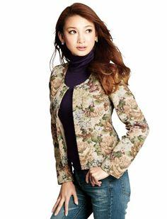 Amazon.co.jp: (オットージャパン) Otto Japan ノーカラーゴブランジャケット: 服&ファッション小物
