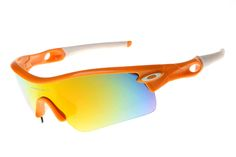#Share #Sunglasses Oakley Radar Visor Orange AKC