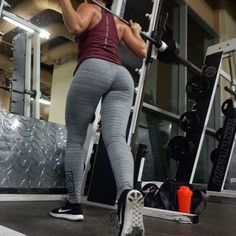 KILLER GLUTE CIRCUIT TONIGHT! - This exercise I'm performing is a curtesy lunge. - Entire workout was super sets 3 super sets 6 exercises total. - Rep range 12-15 4 Sets 60 Second rest - 1. Smith machine feet close together squat all the way down(25 pound plates)  Superset with Bulgarian split squat (15 pound dumbbells) - - 2. Smith machine single leg step ups (10 pound plates each side) Superset into curtesy lunges (10 pound plates each side) - 3. Single leg kickbacks (25 p...