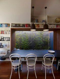 Trendy dining room - nice photo