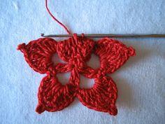 rossimi Knit Christmas Ornaments, Christmas Knitting, Crochet Flowers, Crochet Projects, Knots, Knit Crochet, Crochet Earrings, Diy Crafts, Sewing
