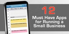 12+ Must Have Apps for Running a Small Business #business #apps  From accounting to productivity we have talked to entrepreneurs, small business owners and hustlers to find out what they say are the best small business apps.