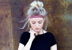 """Haarbänder - Gewebtes Haarband """"Tjak"""" - Ethno Must... - ein Designerstück von pikfine bei DaWanda"""