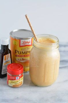 Fall isn't over yet! Enjoy the pumpkin flavor while you meet your protein ne… Fall isn't over yet! Enjoy the pumpkin flavor while you meet your protein needs. Protein Shakes, Pumpkin Protein Shake, Pumpkin Shake, Pumpkin Pie Smoothie, Protein Shake Recipes, Smoothie Recipes, Healthy Shakes, Protein Smoothies, Scrappy Quilts