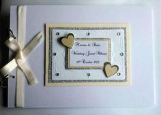 Personalised A4 Wedding Guest Book/Photo Album £20.00 #CRAFTfest - Creative Connections