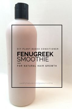 fenugreek smoothie for natural hair growth