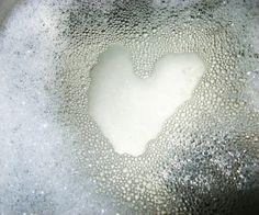 Heart bubbles.