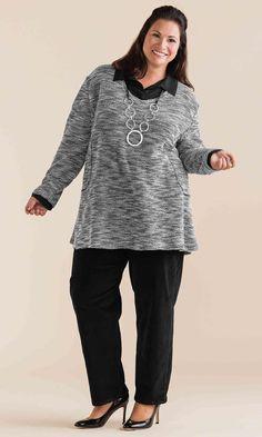 Dublin Sweater / MiB Plus Size Fashion for Women / Winter Fashion http://www.makingitbig.com/product/4923