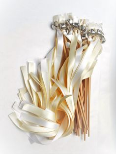 100 Ribbon Bell Wands  Large Bell   Divinity by DivinityBraid