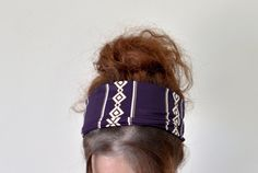 Hey, I found this really awesome Etsy listing at https://www.etsy.com/listing/159360157/purple-and-gold-glitters-headband