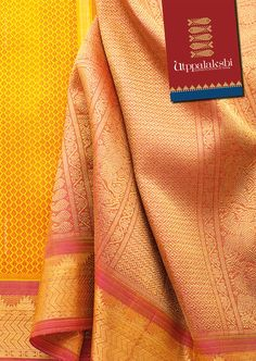 Eclectic is the theme of this beautiful honey-golden saree. A perfect candidate to help find inspiration and break the monotony of the everyday routine. The pastel shade of rust-pink pallu (with delightful horses capering) complements the golden hue of the saree. #Utppalakshi #Sareeoftheday#Silksaree#Kancheevaramsilksaree#Kanchipuramsilks #Ethinc#Indian #traditional #dress#wedding #silk #saree#craftsmanship #weaving#Chennai #boutique #vibrant#exquisit #pure #weddingsaree#sareedesign…