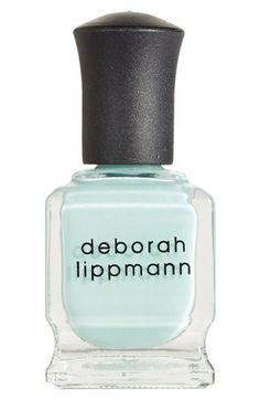 Flowers in Her Hair - color for spring 2014!!    Deborah Lippmann 'Spring Reveries' Nail Color available at #Nordstrom