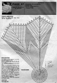 Kira scheme crochet: Scheme crochet no. 1584