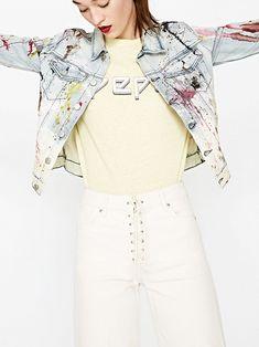 Купить куртка джинсовая Pepe Jeans в js-online.ru. Скидки до 70%. Bell Sleeves, Bell Sleeve Top, Pepe Jeans, Tops, Women, Fashion, Moda, Women's, La Mode