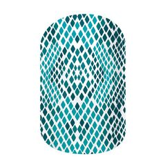 Caribbean Snakeskin  nail wraps by Jamberry Nails
