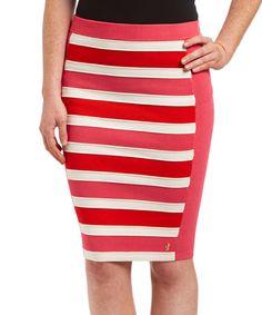 Look at this Azalea & Angel Salton Stripe Pencil Skirt - Women on #zulily today!