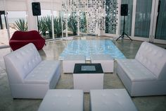 The Bamboo room is a great location for cocktails or your reception! It can hold up to 80 people #NowJadeRivieraCancun #Mexico #DestinationWedding