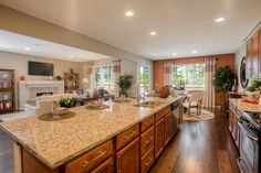 love the kitchen large great view espresso cabinets beautiful