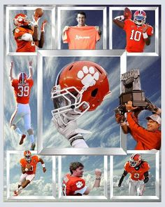 Clemson Tigers Football  Cool Pic!!