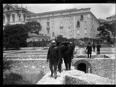 Dom Carlos visita as obras do Liceu Passos Manuel, foto de Joshua Benoliel, in a.f. C.M.L.