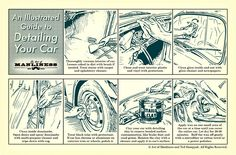 Detailing Your Car: It may seem obvious, but this guide can help you remember easily forgettable spots and steps. via @TheArtofManliness
