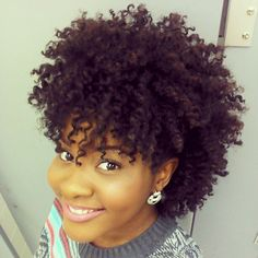 Tammy // 4A Natural Hair Style Icon
