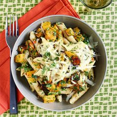Butternut & Parsley Penne