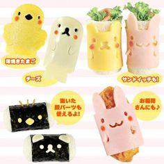 Kawaii Kitchen: Bento Accessories from JBox