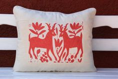 coral+salmon+wdding+decorations   Coral Salmon Otomi oversized Sham by CasaOtomi on Etsy, Mexico ...