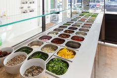 Sla, saladbar Amsterdam, the Nicemakers, healthy food, voedselzandloper, vegetables, Photo by Table to Desk, www.tabletodesk.nl, www.ilovesla.com