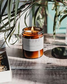 The Lemongrass & Coconut Candle by Hobo Soy Candles features an enticing fusion of creamy coconut with tangy and refreshing lemongrass. A tropical scent designed to compliment your home. Unique Candles, Diy Candles, Soy Wax Candles, Scented Candles, Candle Jars, Tropical Candles, Vegan Candles, Cream Aesthetic, Lemon Grass