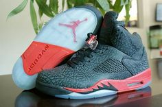 the best attitude 0bf9e 74fa2 Air Jordan 5 3Lab5 Black Infrared 23 Jordan Shoes 2014, Nike Air Jordan 5,