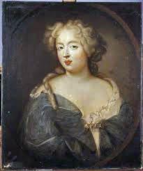 Françoise-Athénaïs, marquise de Montespan, mistress of Louis XIV, an historical character in The Wolf's Sun, a novel set in 17th Century Paris, France.