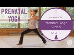 Prenatal Yoga Routine: Gift Of Life (1st Trimester) - YouTube