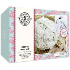 Kirstie Allsopp Kissing Ball Kit - Includes Cordless Glue Gun | Hobbycraft