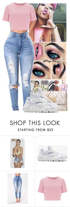 """✨ Zonnique - Patience ✨"" by jazzy-love1164 ❤ liked on Polyvore featuring NIKE and Alice & You"