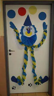 Clown Crafts, Carnival Crafts, Frog Crafts, Hobbies And Crafts, Diy And Crafts, Crafts For Kids, Paper Crafts, Painting For Kids, Art For Kids