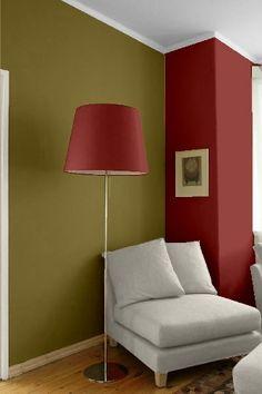 PintoMiCasa.com : Combinar el rojo con verde