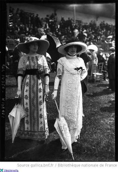 Women at Horse Race, 1910s