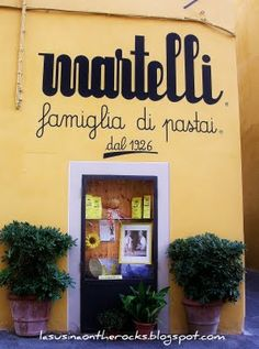 Pasta Martelli, Lari ( Pisa) Die kleinste Nudelfabrik der Welt - für mich die Besten !