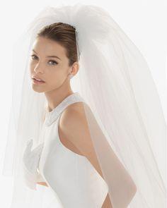 Badia veil - Rosa Clara