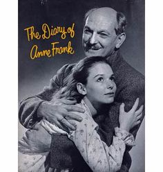 A play and a film were made about the diary of Anne Frank. The Play with Joseph Schilkrant playing Otto and Susan Strasberg as Anne.