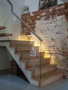 EeStairs | trappen en balustrades (Project) - Zwevende trap in omgebouwde schuur - PhotoID #263859 - architectenweb.nl