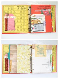 Premade Scrapbook Album Vintage Cookbook Family Photo Album Wedding Gifts for…