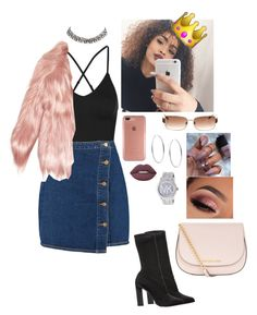 """Flockin ✨"" by viiga ❤ liked on Polyvore featuring Ivy Park, Boohoo, Calvin Klein Collection, Speck, Chanel, Gucci, Carrera y Carrera, Michael Kors, Lime Crime and MICHAEL Michael Kors"