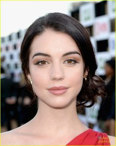 Toby Regbo and Adelaide Kane | About This Photo Set: Adelaide Kane is ravishing in red at the CW, CBS ...