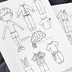 97 Best Color Your Own Paperdolls