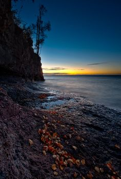 Fall Sunrise over Lake Superior.  Enjoy the view.