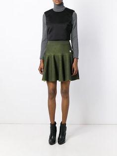 Kenzo Pleated Knit Mini Skirt - Vitkac - Farfetch.com